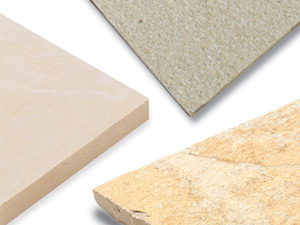 Cream, Yellow, Buff & White Paving