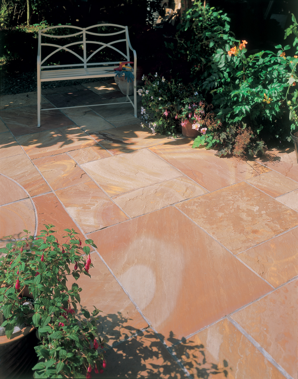 Bradstone Natural Sandstone Paving Modac Patio Pack