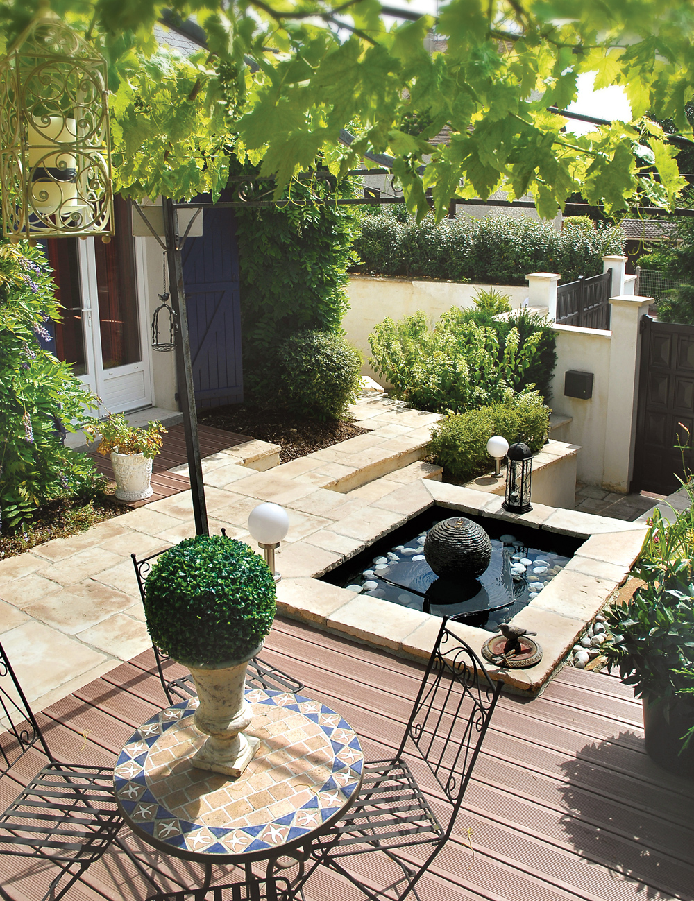 weathered limestone paving bradstone circles. Black Bedroom Furniture Sets. Home Design Ideas