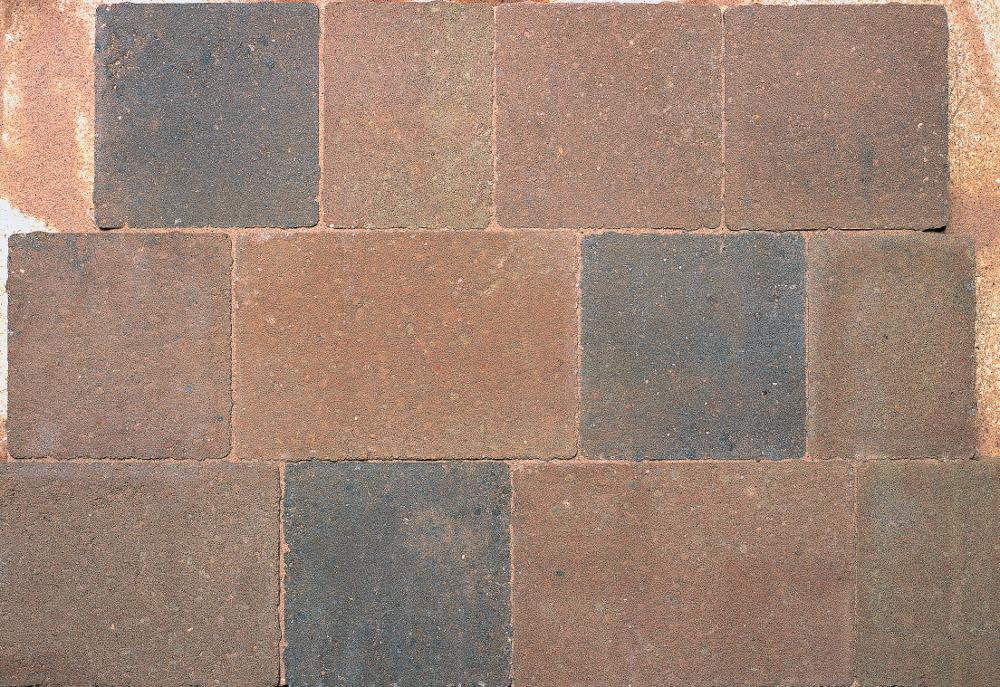 Bradstone Woburn Original Block Paving Rustic Single