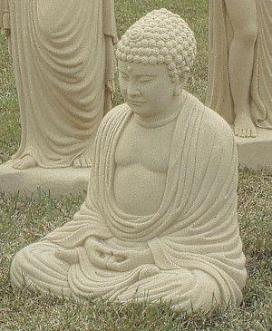 Large Buddha Stone Statue
