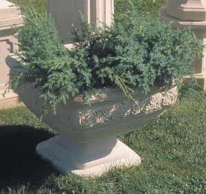 Stone Rose Vase