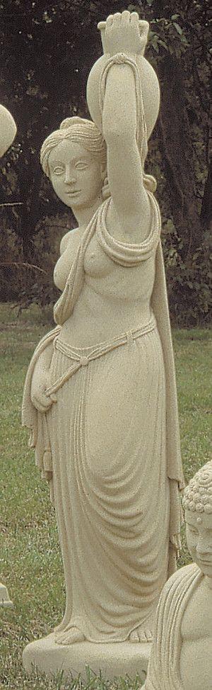 Water Maiden Stone Statue