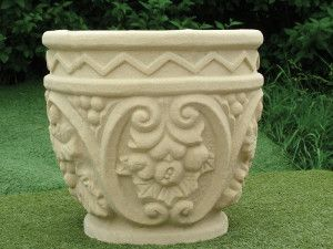 Large Pedwell Stone Planter