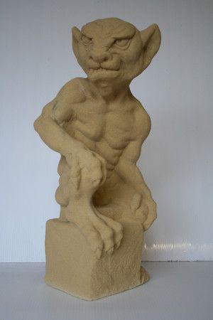 Gollum Stone Gargoyle