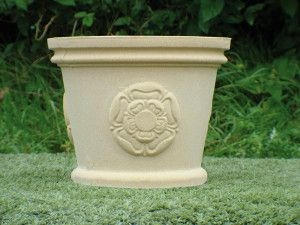 County Stone Pot Planter