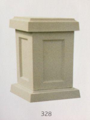 Small Square Stone Pedestal