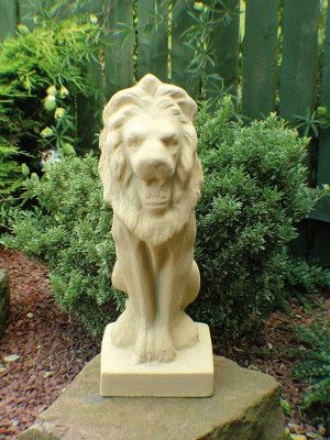Tall Stone Lion