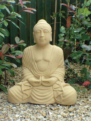 Meditating Stone Buddha