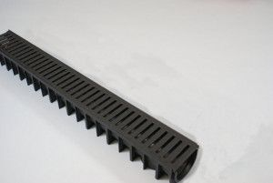 Drainage Channel with Cover Plastic Grate