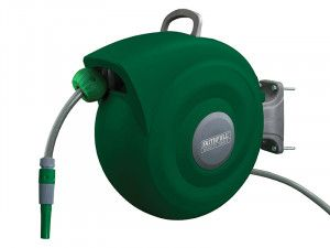 Faithfull Auto Hose Reel With Wall Bracket 20m