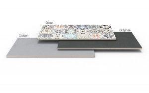 Stonemarket - Acento - Carbon - Single Sizes