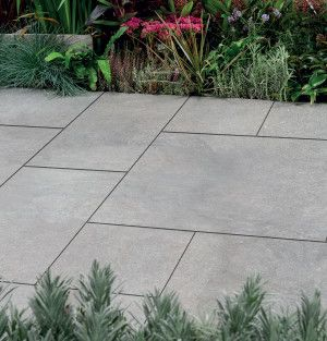 Bradstone - Arenaria Vitrified Collection - Light Grey - Patio Pack