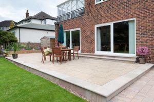 Marshalls - Arrento Vitrified Paving - Beige - Project Pack