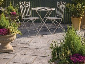 Bradstone - Ashbourne Paving - Weathered Grey - Patio Kits