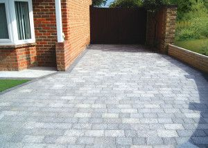 Natural Paving - Fossestone - Block Paving - Birch - Project Pack