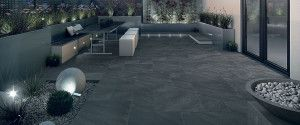 Bradstone - Aspero Porcelain Collection - Graphite - Patio Pack