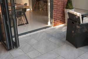 Bradstone - Aspero Porcelain Collection - Silver Grey - Patio Pack