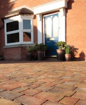 Bradstone - Woburn Rumbled Block Paving - Autumn - Single Sizes