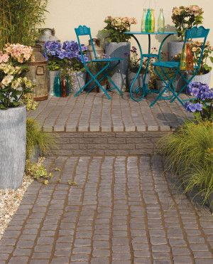 Bradstone - Carpet Stones - Cobble - Charcoal