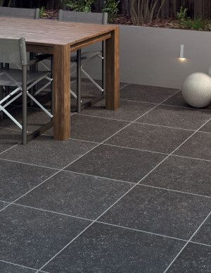 Bradstone - Causse Porcelain Collection - Dark Grey - Single Sizes