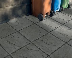 Bradstone - Peak Riven Paving - Dark Grey - Single Sizes