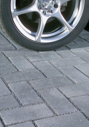 Bradstone - Block Paving - Driveway Infilta - Charcoal - 200 x 100mm