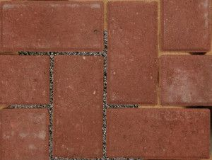 Bradstone - Block Paving - Driveway Infilta - Red - 200 x 100mm