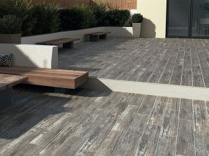 Bradstone - Madera Antigua Porcelain - Grey - 900 x 150mm