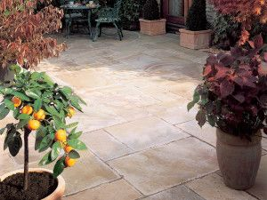 Bradstone - Natural Sandstone Paving - Sunset Buff - Single Sizes
