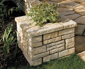 Bradstone - Old Town Walling - Weathered Limestone - Full Block