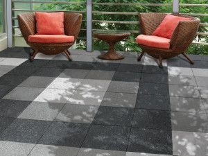 Bradstone - Panache - Ground - Midnight Grey, Silver Grey, White