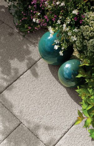 Bradstone - Textured Paving - Grey - Single Sizes