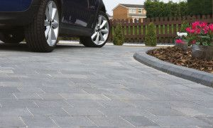 Bradstone - Woburn Original Block Paving - Graphite - Single Sizes