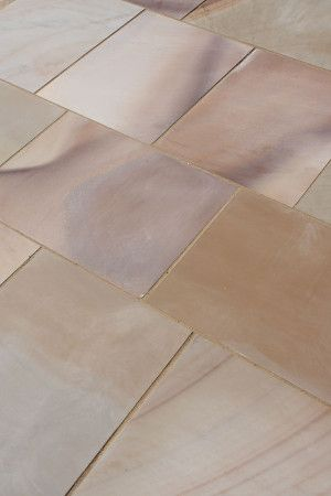 Castacrete - Sawn and Honed - Buff Brown Sandstone - Patio Pack (New Pack And Slab Size)