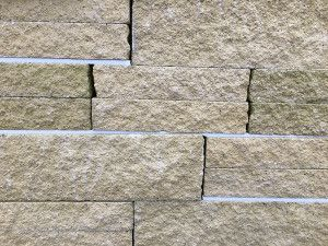 Split Face Walling Blocks - Buff