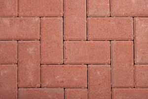 Castacrete - Driveway Block Paving - Red - 200 x 100mm