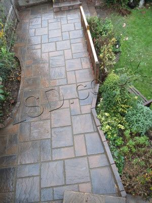 Rutland Paving - Autumn Gold - Oakham Pattern - Patio Pack