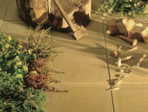 Cemex - Dovedale Smooth Paving - Buff - 450 x 450mm