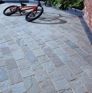 Natural Paving - Fossestone - Block Paving - Cinder - Project Pack