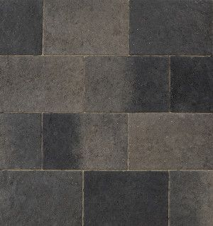 Marshalls - Concrete Driveway Block Paving - Drivesett Coppice - Pennant Blend