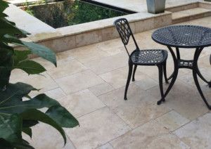 Natural Paving - Premiastone - Cream Travertine - Project Pack