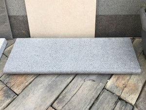 Natural Granite - Bullnosed Steps - Dark Grey - 1000 x 350mm