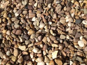 Quartz Pea Gravel - 10 to 14mm