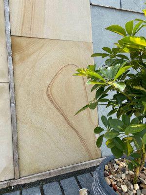 Indian Sandstone Paving - Drift Sand Honed - Single Sizes