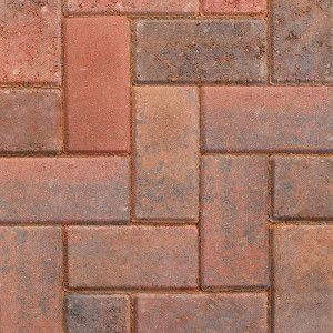 Marshalls - Concrete Driveway Block Paving - Driveline 50 - Brindle
