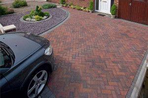 Marshalls - Concrete Driveway Block Paving - Driveline Priora - Brindle