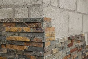 Stonemarket - Exilis Walling Splitface - Copper Slate