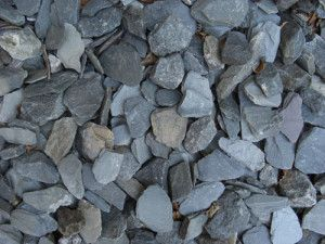 Green Slate Chippings - 40mm