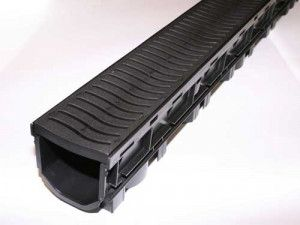 Flo Safe - Domestic Drainage Channel - Plastic (Heel Safe) - 1000mm